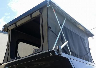 4WD camper back pop top sock Beerwah