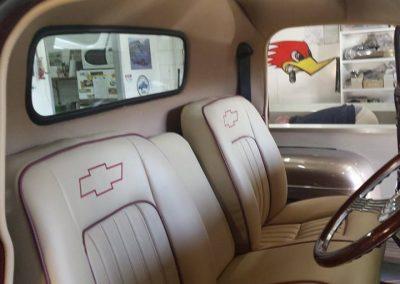 50's model Chevy Pick up custom interior