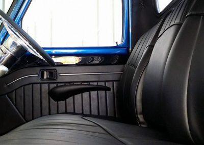50's model Ford F100 custom interior