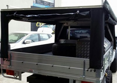 Canvas ute canopy auto upholstery