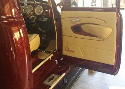 Chevy Stepside Pick up custom door trims