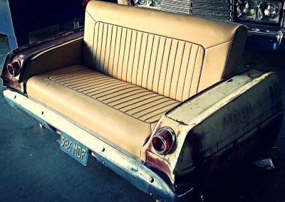 Chevy Impala custom car lounge