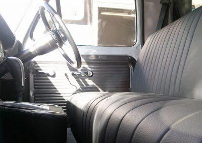 Ford F100 custom retrim charcoal