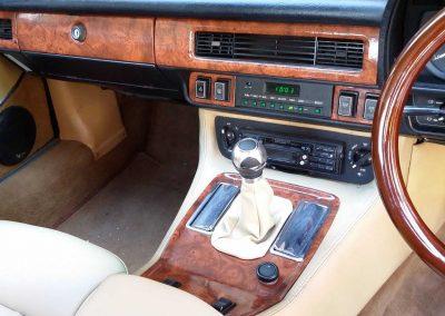 Jaguar wood grain vinyl retrim Sunshine Coast Coastal