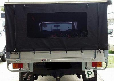 Canvas ute canopy Coastal Auto Upholstery