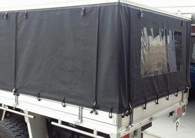 Canvas ute canopy Caloundra
