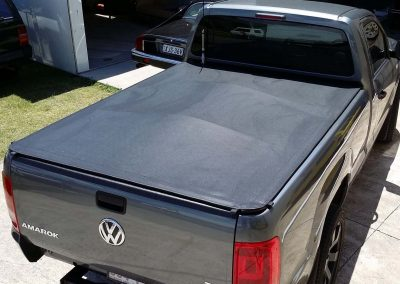 Clip on tonneau VW Amarok dual cab ute Sunshine Coast